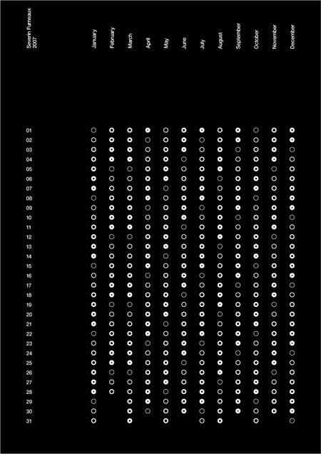 Calendar Typography : Lucas art calendar ideas