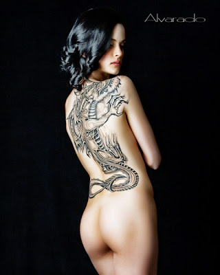 The lower back tattoo is one of the most common tattoos that females choose