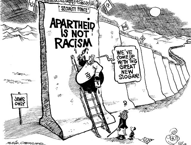 Apartheid Political Cartoon
