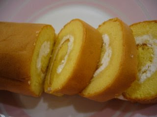 Durian Roll Cake