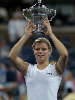 Tennis Star Kim Clijsters