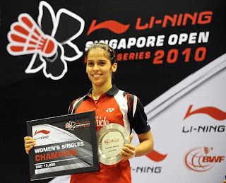 Star Female Player of Badminton Saina Nehwal