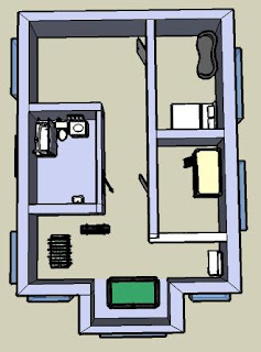 Casa estival plano de la casa segundo piso - Vivir en un segundo piso ...