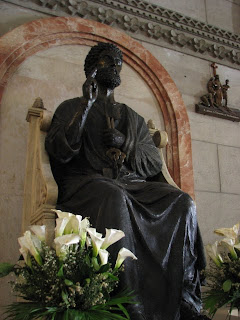 St. Peter's Statue at the Manila Cathedral