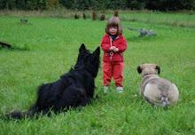 Helena, Jack og Litten. Ca. 2008