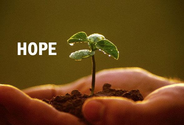 Hope …