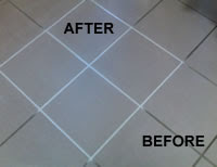 Yahoo! Answers - What is the best way to regrout bathroom floor