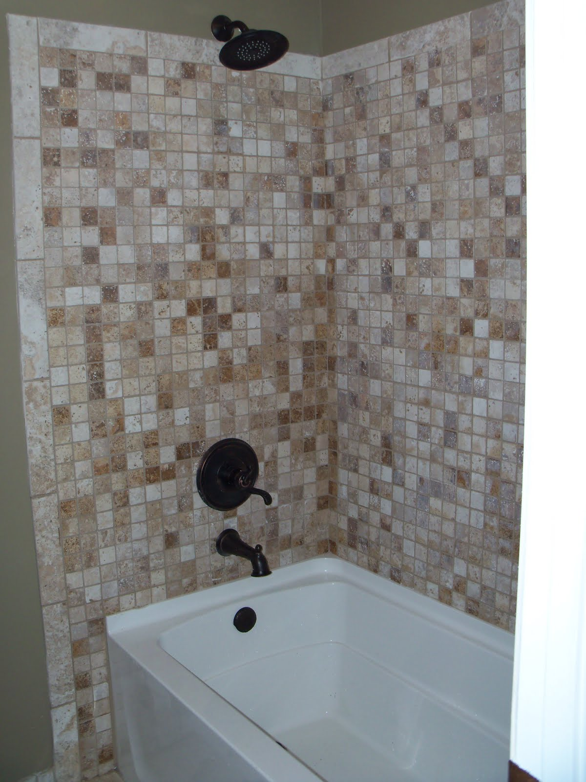 HOW TO TILE A BATHTUB SURROUND BATHTUB SURROUND