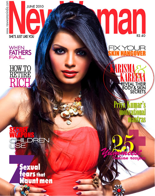 makeup indian women. of new woman magazine.