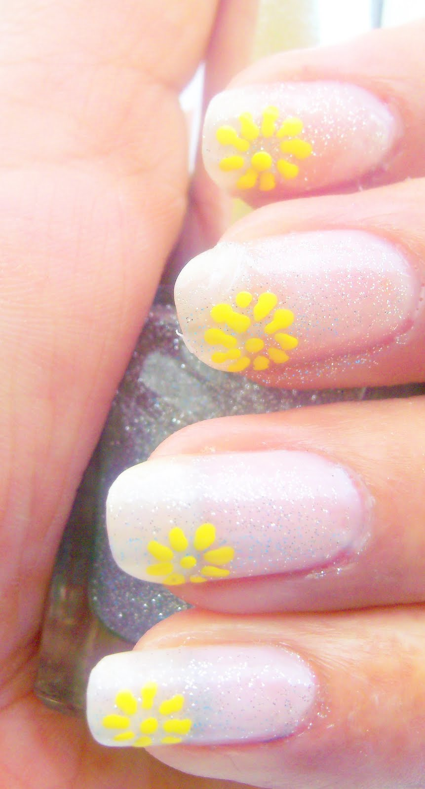 Easy nail art tutorial free hand design nail art