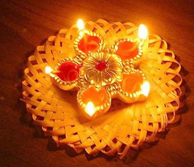Diwali Wallpapers Free Lamps Decoration