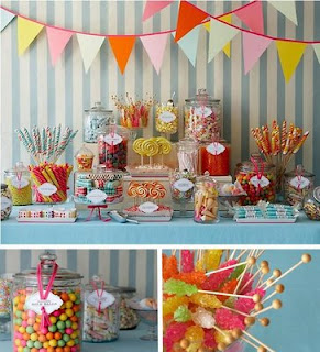 So Lovely Creations Birthday Cake Table Idea