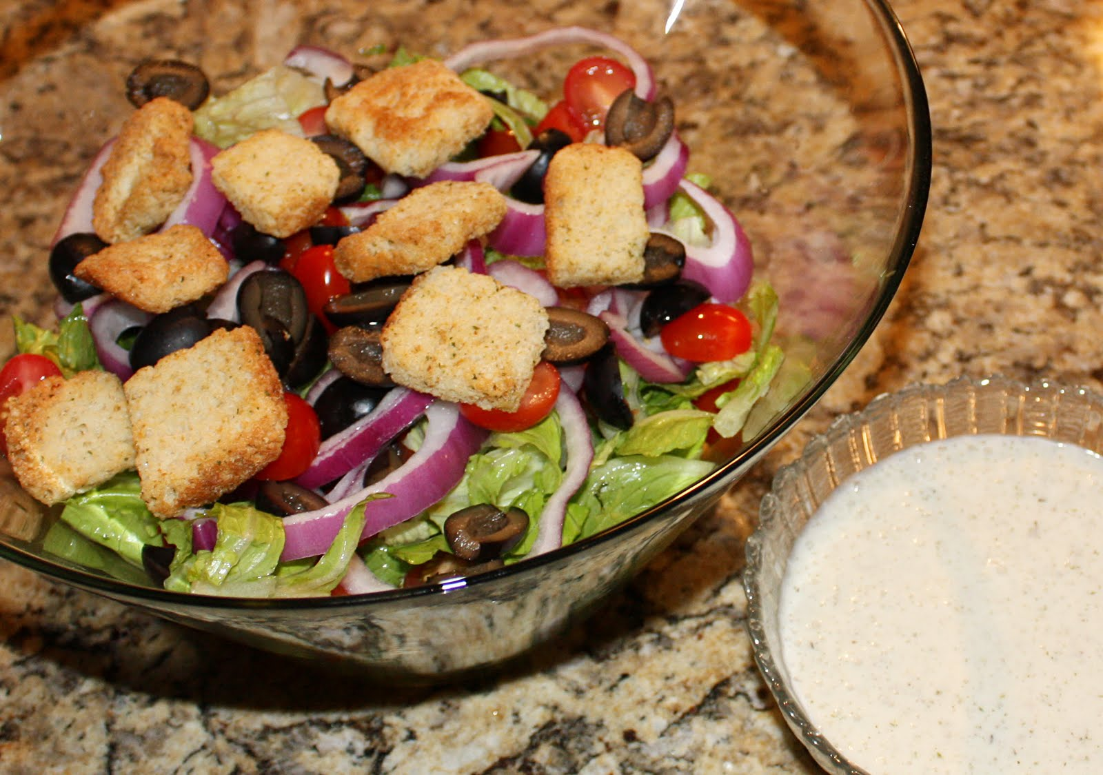 Vittles Divine Olive Garden Salad