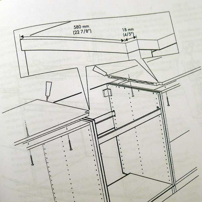 Ikea domsjö montering