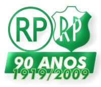 Logotipo dos 90 anos do Glorioso.