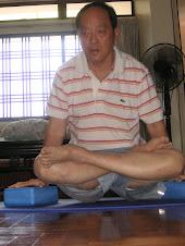 Yoga-  Lotus posture