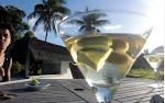 un martini a media tarde
