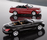 2010 Mercedes E Class Cabrio scale model