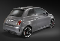 Fiat 500 Electric Vehicle