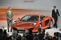 McLaren MP4-12C Press Launch