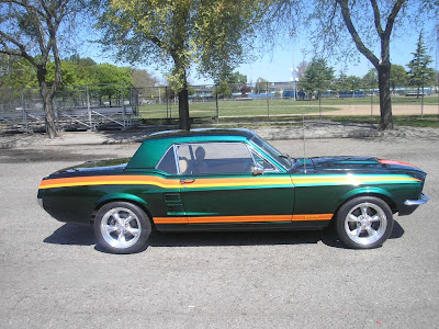 Horse - 1967 Ford Mustang