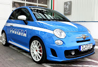Fiat 500 Abarth Police Car