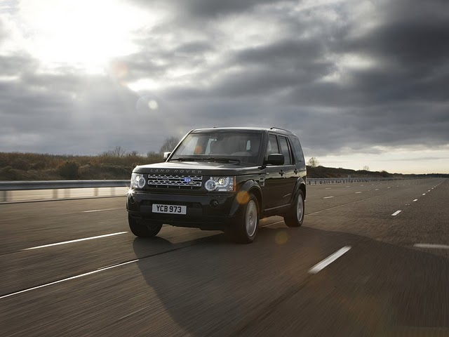 Land Rover Discovery 4 armoured vehicle