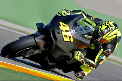 Valentino Rossi Make Debut Motogp with Ducati Desmosedici