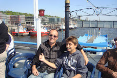 Danilo e seu pai Mauro