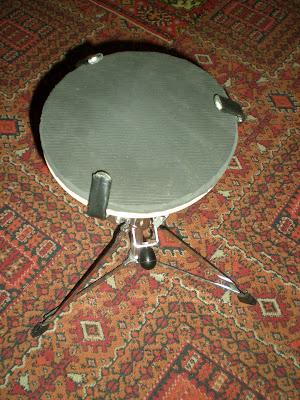 Самодельный тренировочный пэд для барабанщика