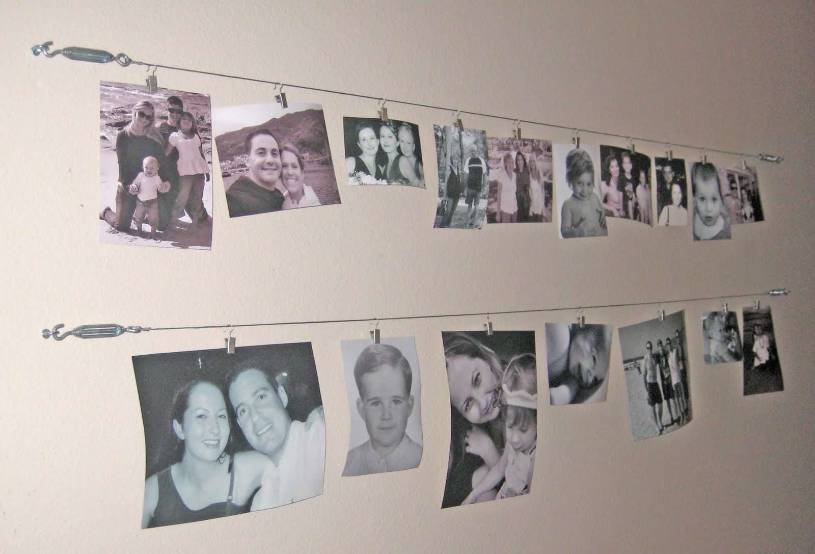 artful anthology creative idea for wall picture display