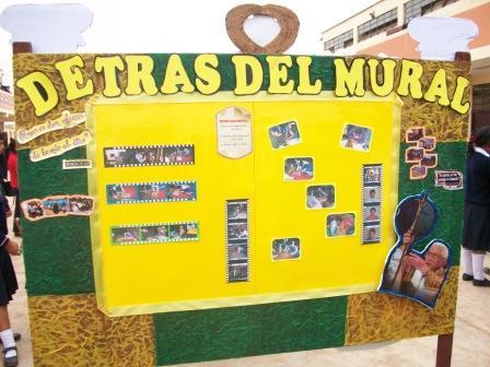 Concurso De Peri  Dicos Murales Por El D  A El PAPA