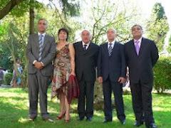 Con aita y mis hermanos