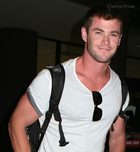 chris hemsworth star trek. Chris Hemsworth -- the thunder