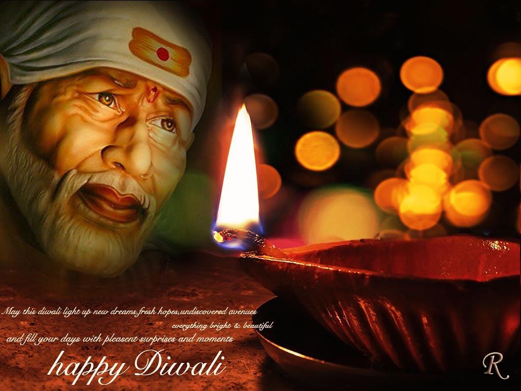 Diwali Wallpapers Free Diwali Shirdi Sai