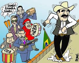 La comparsa latinoamericana