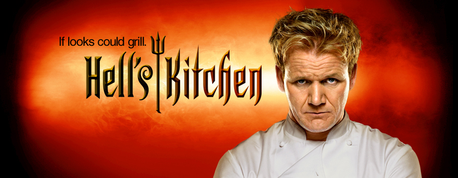 Gordon Ramsey' Hell's Kitchen show