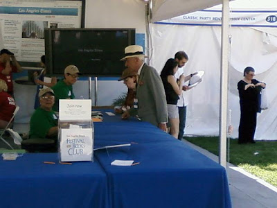latimesbookfest4 Another had novelist Gay Talese trading tails with Richard Johnson and in ...