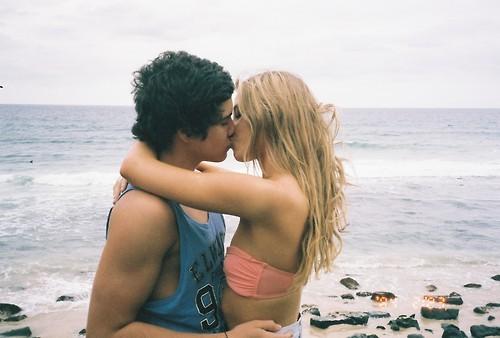 Kissning Blonde Teens 34