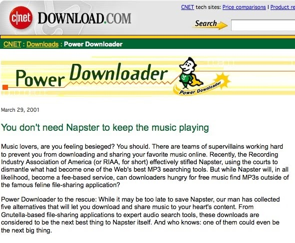 should downloading music from the internet
