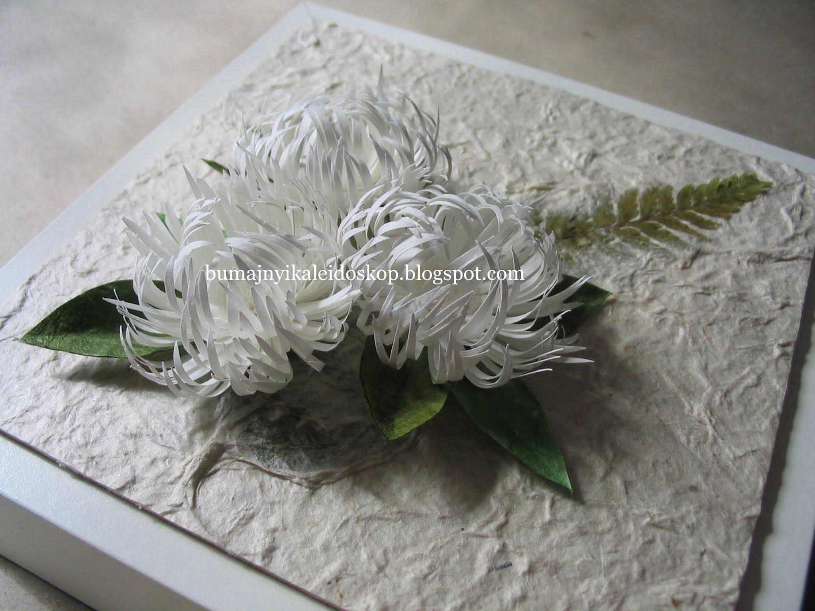 Хризантемы осенью