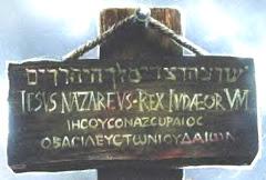 Jesús Nazareno Rey de los Judíos.