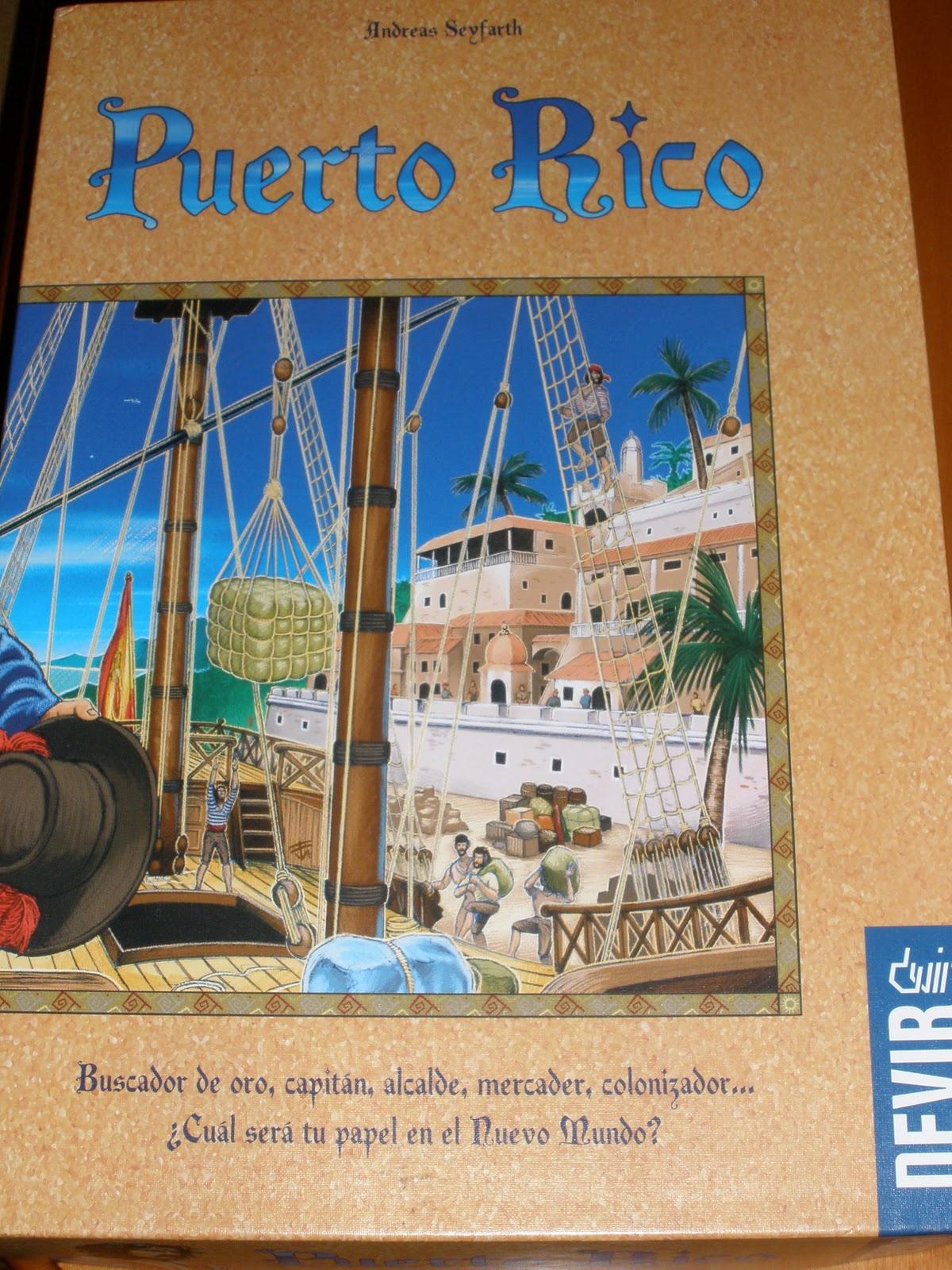 Puerto rico el mejor juego de tablero de mesa de la for Puerto rico juego de mesa