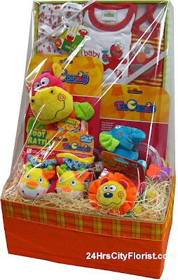 Bright Colourful New Born Baby Gift Set