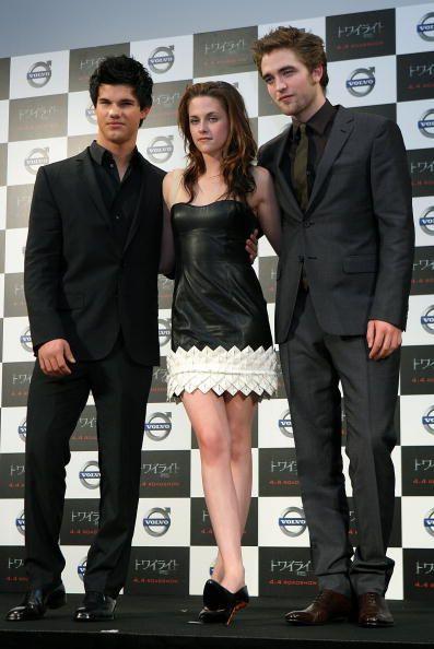 Matéria: Taylor Lautner, Kristen Stewart e Robert Pattinson em ...