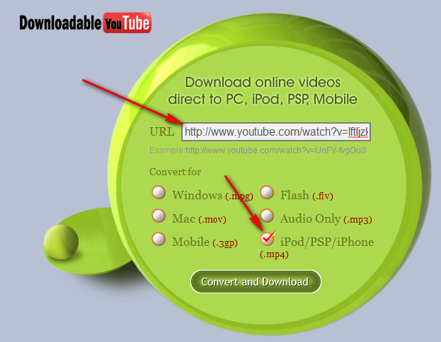 how to download videos from youtube using pp