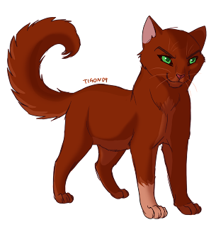 """A Warriors Chance"" Characters Squirrelflight_by_tigon"