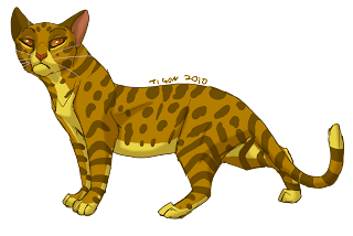 """A Warriors Chance"" Characters Leopardstar"