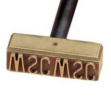 wood branding iron