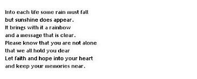 Sympathy Verses, Poems & Quotes<br />